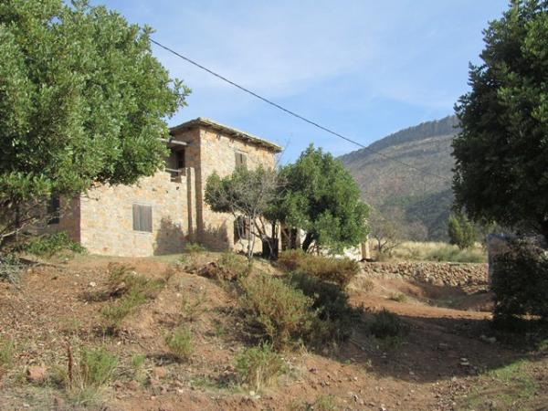 Maison de campagne vendre au maroc vente maison de for Construire une maison au maroc